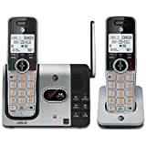 AT&T CL82214 DECT 6.0 Cordless Phone with 2 handsets plus answering system with caller ID/call waiting
