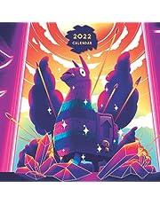 2022 Calendar: Deluxe wall Calendar 2022