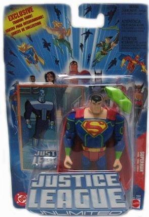 Mattel Justice League Unlimited Superman Action - Justice League Unlimited Mattel