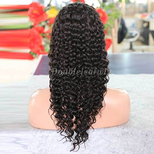 Fully Hand Tied Brazilian Virgin Human Hair Lace Wig Cheap Kinky Curly Full Lace Wigs New Design Full Lace Human Hair Wig (20inch)