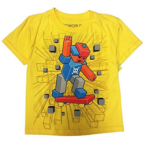 Bio World Lego Youth Kid's Yellow T-Shirt