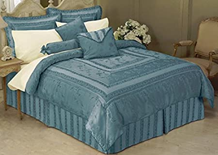 Brown IH-10010 Queen Livingston Home Lunar Bed in a Bag