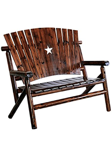 - Leigh Country Double Bench with Star