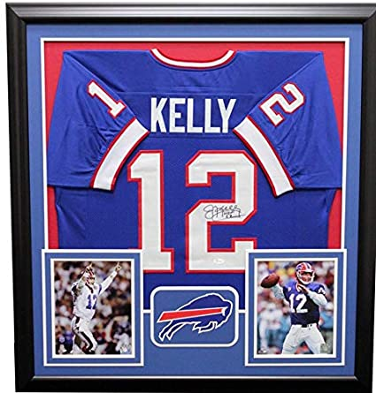 942ea7fe23b Image Unavailable. Image not available for. Color  Jim Kelly Buffalo Bills  Framed Autographed Signed Jersey - JSA Authentic