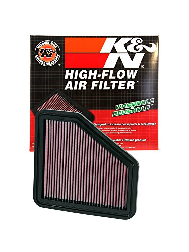 K&N 33-2326 High Performance Replacement Air Filter