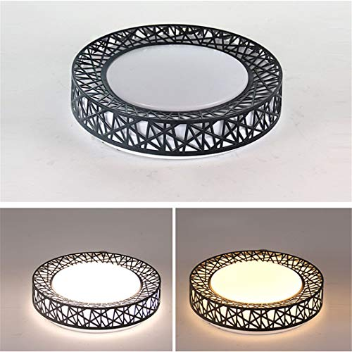 Perforated Metal Surface Mount - Muantopst Modern Bird's Nest Ceiling Lights Simple Decoration Fixtures Study Dining Room Lighting Bedroom LED Ceiling Lamp Single Warm White White 48W 500MM