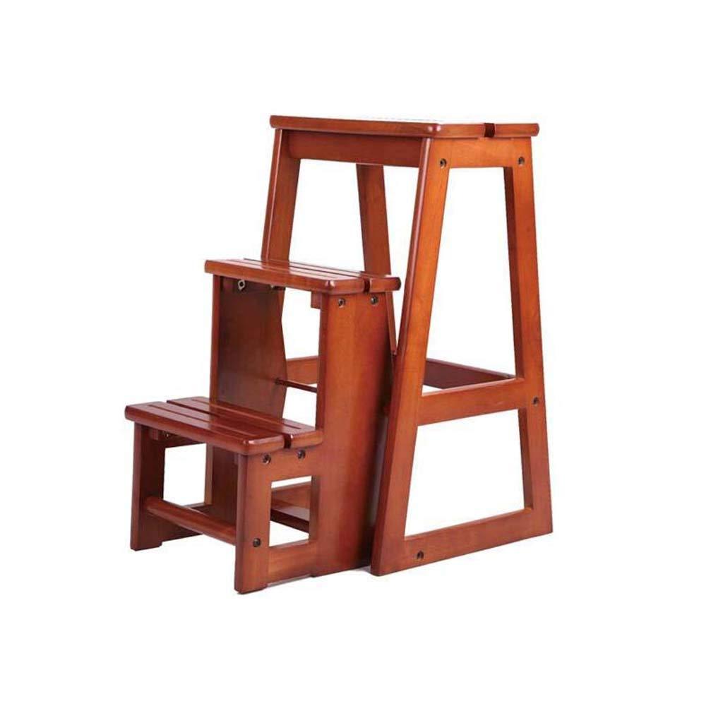 激安価格の 現代多機能3ステップライブラリラダーの椅子図書館家具折り畳み木製のスツールチェアステップラダーホーム B07KKK4PBZ B07KKK4PBZ, かんてい局太宰府店:2fbf4f20 --- itourtk.ru