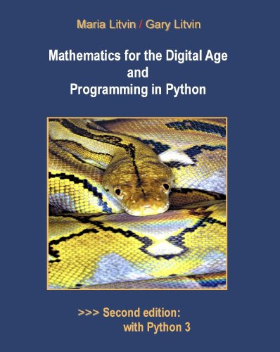 Mathematics for the Digital Age and Programming in Python
