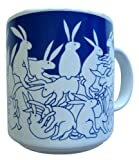 Animates Blue Nitetime Rabbits Mug - Taylor & Ng