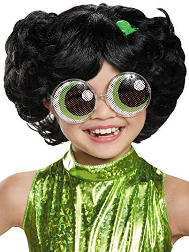 Buttercup Powerpuff Girls Wig, One Size Child