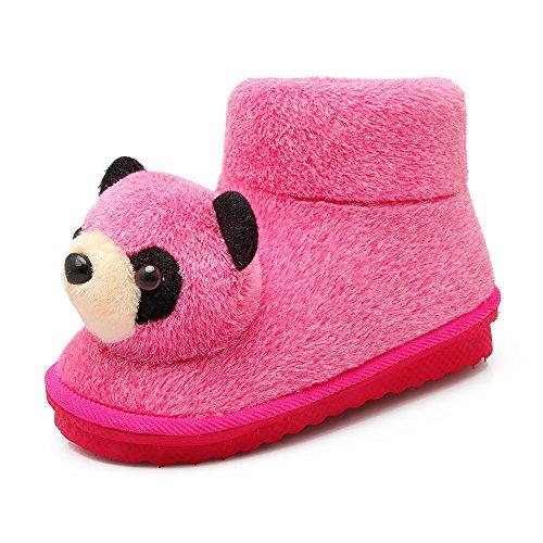 Y-Hui Winter Snow Boots studentesse un piatto caldo slip corto corto stivali scarpe tubo,250 (per 36, 37 iarde),Rosa