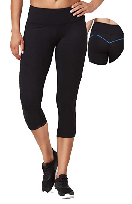 48aa21d0836ef Amazon.com : VUTRU Women's Yoga Pants Tummy Control Workout Running ...