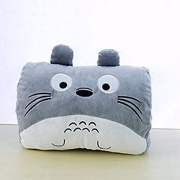 Amazon.com: Totoro almohada muñeca cojín calentador de mano ...