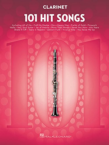 - 101 Hit Songs: for Clarinet