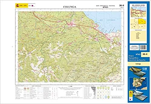 30-2 Colunga. Mapa Topográfico Nacional 1:25.000: Amazon.es ...