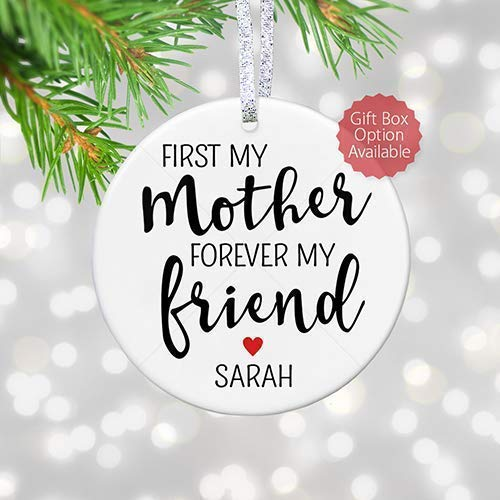 Christmas Message For Mom.Amazon Com Gift For Mother 2018 Personalized Christmas