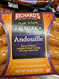 Richard's Andouille Smoked Sausage 12 Oz (4 Pack)