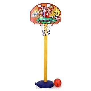Sport Dei Capretti Portatile Giocattolo Basket Cerchio Impostato Con Supporto A Sfera