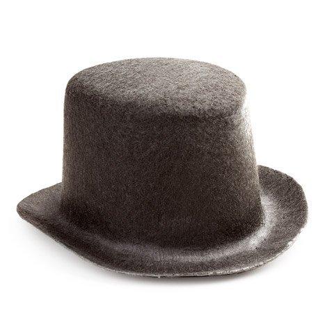 Bulk Buy: Darice DIY Crafts Black Top Hat Felt 5 inches (6-Pack) 12750 -