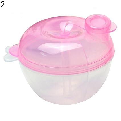 zhouba 3 Intercalar dispensador de leche en polvo rosa rosa Talla:Apple