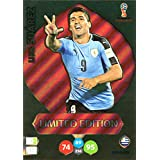 ADRENALYN XL FIFA WORLD CUP 2018 RUSSIA - LUIS SUAREZ LIMITED EDITION TRADING CARD - URUGUAY