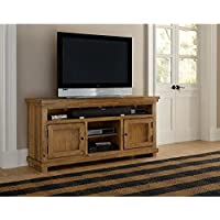 Progressive Furniture Willow Distressed Pine 64 Console