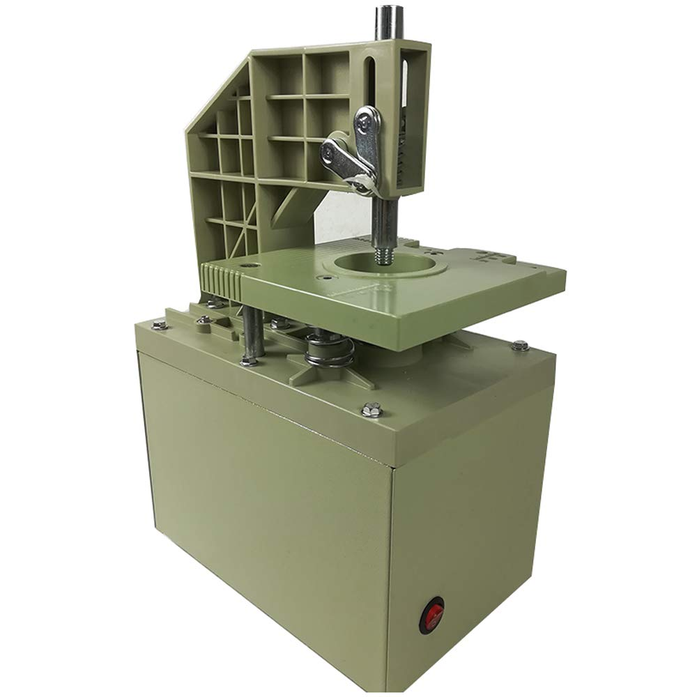 INTBUYING Curtain Eyelet Puncher Press Hole Machine Making Ring Tool Automatic Heavy 220V by INTBUYING