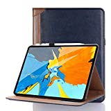 Stand Case Compatible with iPad Pro 11,INorton PU Leather 11 inch Pro Smart Protective Cover with Card Holders,Slim Full Body Shockproof Sleeve Compatible with iPad Pro 11: more info