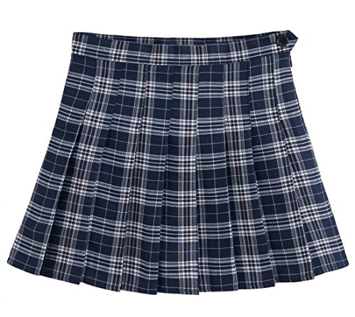 Ourlove Fashion Girl's Short Pleated School Skorts For Teen Girls Tennis Scooters Sport (Girl Sport Tennis Shorts)