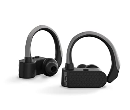 b1020170d1d Amazon.com: 808 EarCanz Tru Sport Wireless Bluetooth Earbuds - Black: Cell  Phones & Accessories