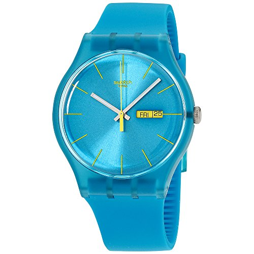 Swatch Men's SUOL700 Watch with Turquoise ()