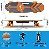 "Tooluck 27.5"" Electric Skateboard, 20KM/H Top"