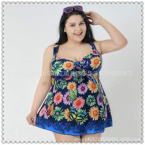Da 6xl Bagno Mostrato Collezione Unica 12 Fuweiencore Dimensione Swimsuit colore Di A La Con Taglia Spacco Blu Stile Colori Mostrato Come Fiori Costume Gonna aHwwEq5