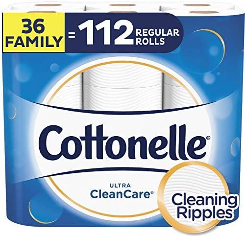 Cottonelle CleanCare Toilet Biodegradable Septic Safe product image