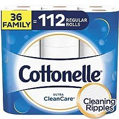 Cottonelle Ultra CleanCare Toilet Paper,...