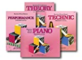 Bastien Piano Basicss Primer Level Learning Library Set - Piano, Theory, Performance, and Technic Books