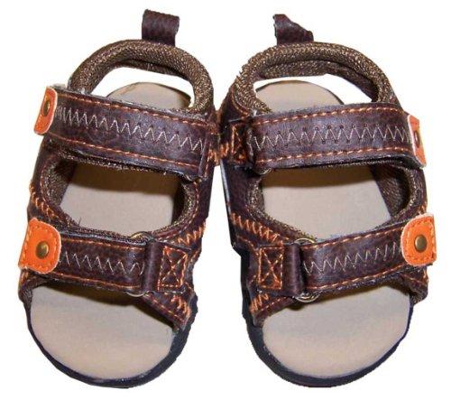 Infant Toddler Brown Sandal - 3-6 Months [3010]
