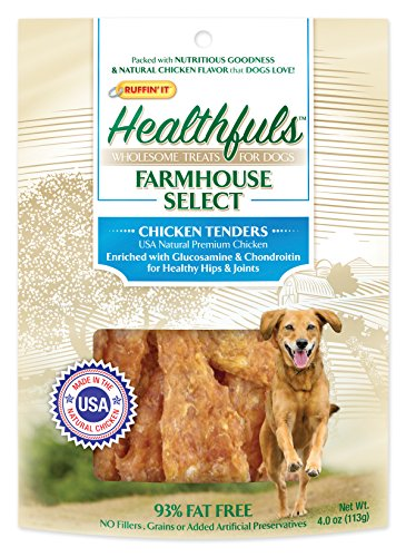 Healthfuls Farmhouse Select – Chicken Jerky – Enriched with Glucosamine & Chondroitin (4 oz) For Sale