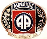 U.S. 82nd AIRBORNE MILITARY BELT BUCKLE MADE IN USA