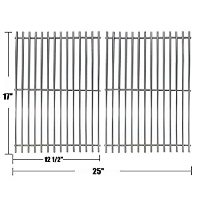 Bar.b.q.s 51022 BBQ Barbecue Replacement Stainless Steel Cooking Grid Grates Parts Models for Great Outdoors,Charbroil ,Grill Chef,Thermos 461262409, Vermont Castings Grills Models