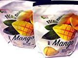 Paradise Green Dried Mango Premium Quality 35 Oz (2 Pack)