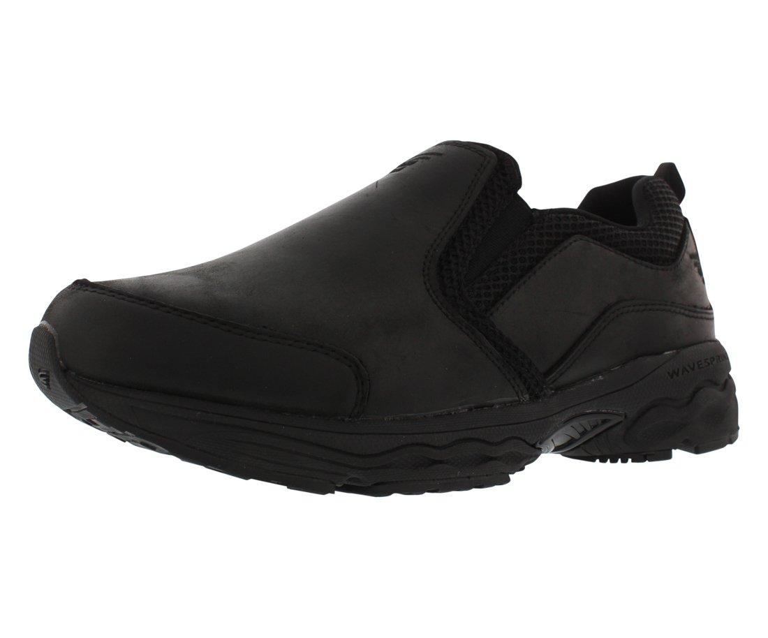 Spira Taurus Men's Slip Resistant Casual Shoes with Springs 11.5 D(M) US|Black
