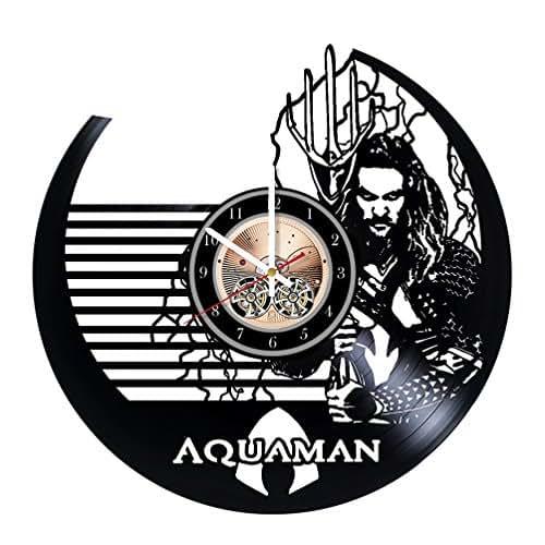 Amazon Com Aquaman Legend Unique Wall Clock For Bedroom
