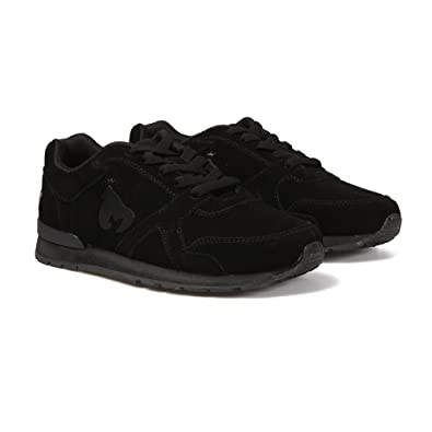 incredible prices buy cheap buying new Money Clothing Supertone Suede Trainers Jet Black 11 Blk ...