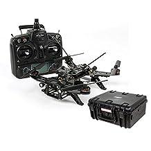 Monoprice Walkera Runner 250 Quadcopter Racing Drone - *NO CAMERA* RTF Basic 1 Kit + Weatherproof Hardcase Bundle * Updated Versio