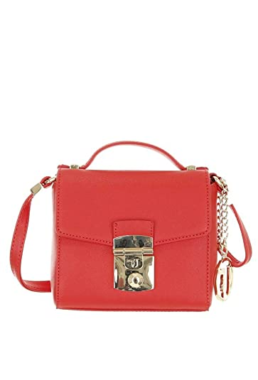 Image Unavailable. Image not available for. Color  Trussardi Jeans  Structured Vegan Leather Shoulder Bag 5ea8b9925b159