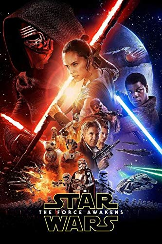 Star Wars : Episode VII - The Force awakens Cover