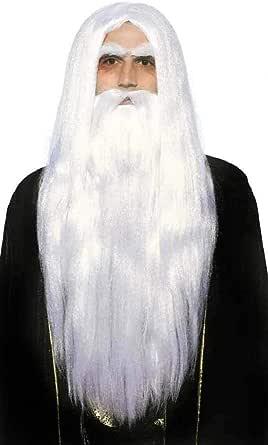 Forum Novelties Inc - Merlin Wig & Beard