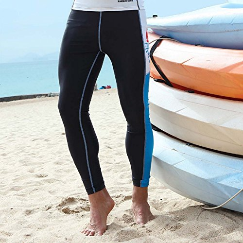 Panegy Men's Dive Lycra Skin Suit Pants Leggings Surf Surfing Surfer Snorkel Snorkeling Swim Swimming Swimmer Rash Guard Tight- M (Surf Skin Pant)