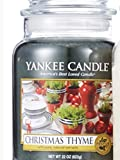 Yankee Candle Christmas Thyme Large Jar Candle